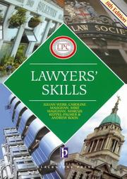 Cover of: Lawyers' Skills (Legal Practice Course Guides)