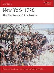 Cover of: New York 1776 (Campaign) | Brendan Morrissey