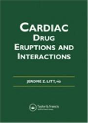 Cover of: Litt's Cardiac Drug Eruptions and Interactions