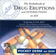 Cover of: The Pocketbook of Drug Eruptions and Interactions on Disk