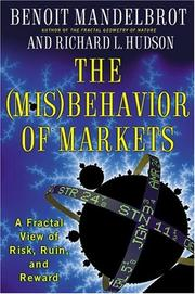 Cover of: The (mis)behavior of markets