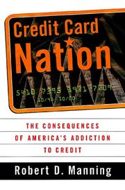 Cover of: Credit Card Nation | Robert D. Manning