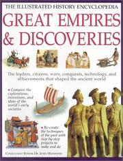 Cover of: Great Empires & Their Discoveries (Illustrated History Encyclopedia)