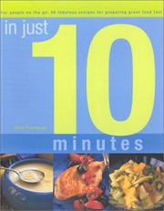 Cover of: In Just 10 Minutes: For People on the Go  | Jenni Fleetwood