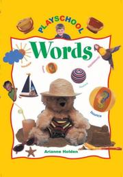 Cover of: Words (Playschool)