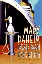 Cover of: Dead man docking: a bed-and-breakfast mystery