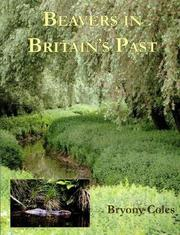 Cover of: Beavers in Britain's Past (Warp Occasional Paper) (Warp Occasional Paper) (Warp Occasional Paper)