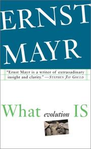 Cover of: What Evolution Is