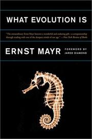 Cover of: What Evolution Is | Ernst Mayr
