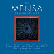 Cover of: The Mensa Board Games Pack