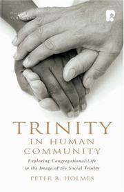 Cover of: Trinity In Human Community