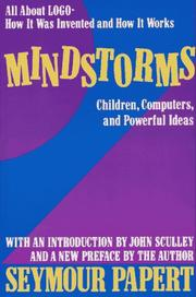 Cover of: Mindstorms | Seymour Papert