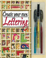 Cover of: Create Your Own Lettering (Action Packs) |