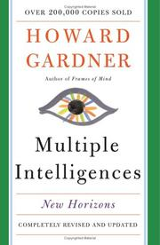 Cover of: Multiple Intelligences by Howard Gardner