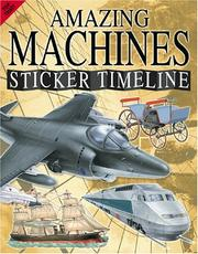 Cover of: Amazing Machines (Sticker Timelines) |