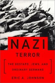 Cover of: Nazi Terror  | Eric A. Johnson