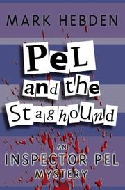 Cover of: Pel and the Stag Hound (Inspector Pel Mysteries)