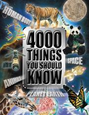 Cover of: 4000 Things You Should Know About Animals