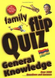 Cover of: Family Flip Quiz | Christopher Rigby