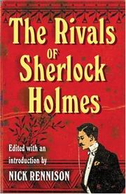 Cover of: The Rivals of Sherlock Holmes