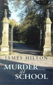 Cover of: Murder at School