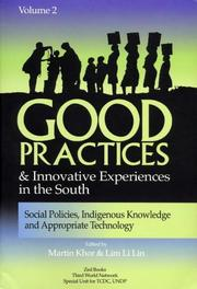 Cover of: Good Practices And Innovative Experiences In The South: Volume 2 |
