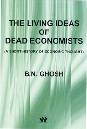 Cover of: The Living Ideas of Dead Economists