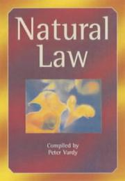 Cover of: Natural Law