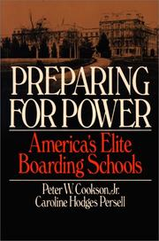 Cover of: Preparing for power