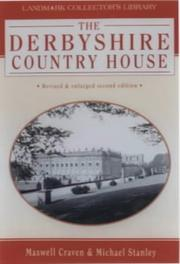 Cover of: Derbyshire Country House