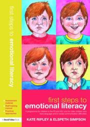 Cover of: First Steps to Emotional Literacy (David Fulton Books)