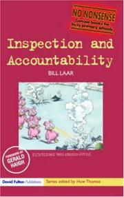 Cover of: Inspection and Accountability (No-Nonsense) | Bill Laar