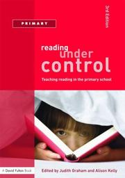 Cover of: Reading Under Control | Graham/Kelley