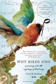 Cover of: Why birds sing