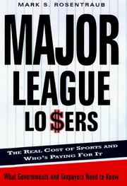 Cover of: Major league losers