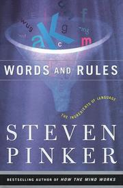 Cover of: Words and rules: the ingredients of language