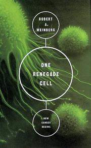 Cover of: One Renegade Cell (Science Masters)
