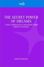 Cover of: Secret Power of Dreams | David Fontana