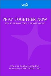 Cover of: Pray together now