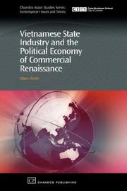 Cover of: Vietnamese State Industry and the Political Economy of Commercial Renaissance | Adam Fforde