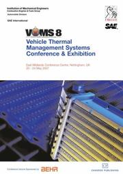 Cover of: Proceedings of the IMechE's VTMS8 - Vehicle Thermal Management Systems Conference