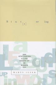 Cover of: Stuttering