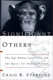 Significant others by Craig B. Stanford