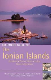 Cover of: The Rough Guide to the Ionian Islands 3