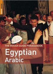 Cover of: The Rough Guide to Egyptian Arabic Dictionary Phrasebook 2