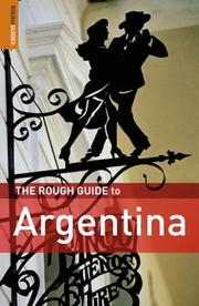 Cover of: The Rough Guide to Argentina 3