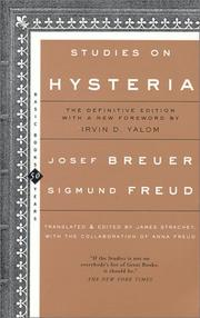 Cover of: Studien über Hysteria