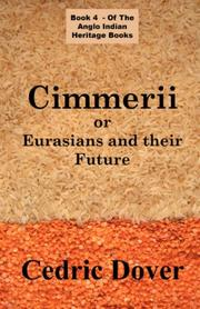 Cover of: Cimmerii or Eurasians and Their Future