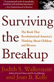 Cover of: Surviving the Breakup | Judith S. Wallerstein