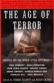 Cover of: The age of terror |